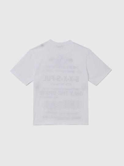 Diesel - TBALLX2 OVER, Blanco - Camisetas y Tops - Image 2