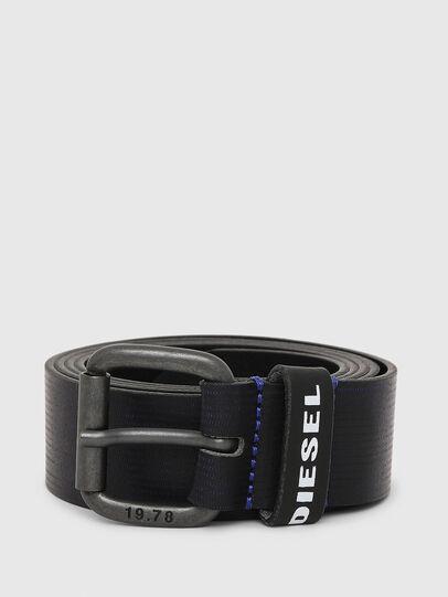 Diesel - B-CAVA, Negro/Azul - Cinturones - Image 1