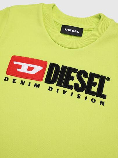 Diesel - SCREWDIVISIONB-R, Amarillo Fluo - Sudaderas - Image 3