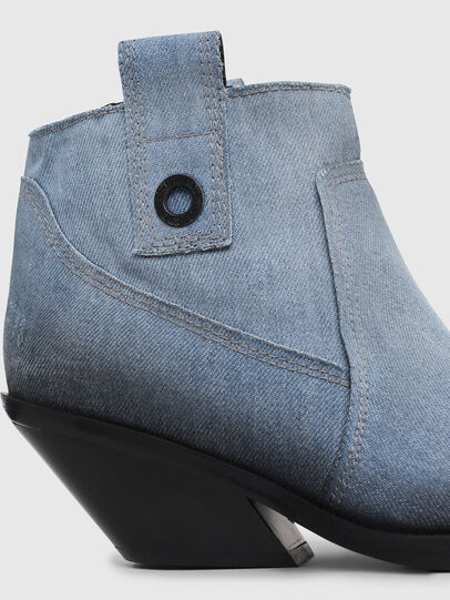 Diesel - D-GIUDECCA MAB, Blue Jeans - Botines - Image 4
