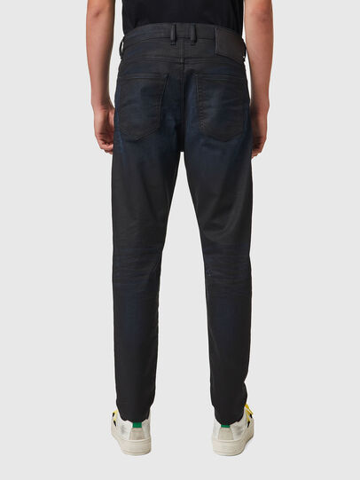 Diesel - D-VIDER JoggJeans® 069XN, Negro/Gris oscuro - Vaqueros - Image 2