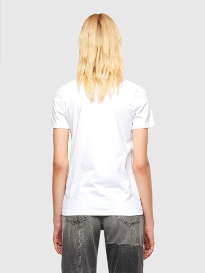 Diesel - T-SILY-SMALLOGO, Blanco - Camisetas - Image 2
