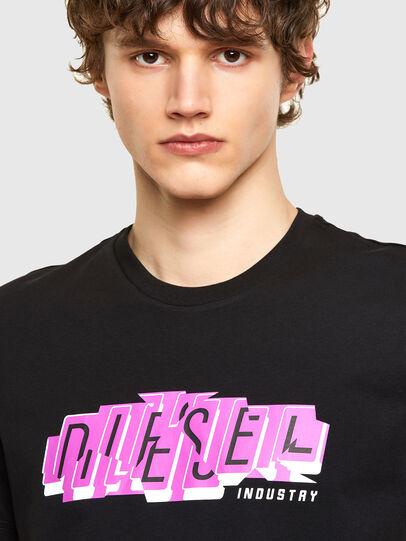 Diesel - T-DIEGOS-E32, Negro - Camisetas - Image 3