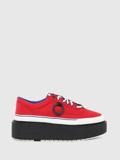 Diesel - H-SCIROCCO LOW, Rojo Fuego - Sneakers - Image 1