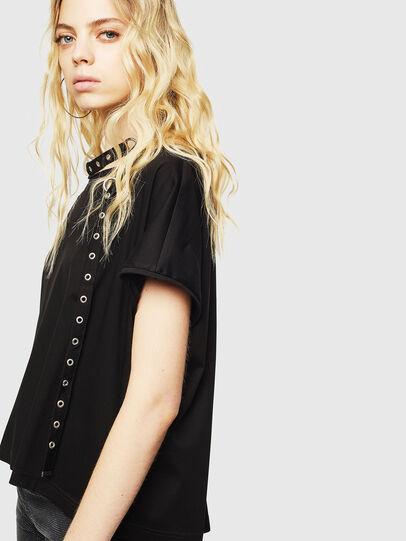 Diesel - T-JALA, Negro - Camisetas - Image 5