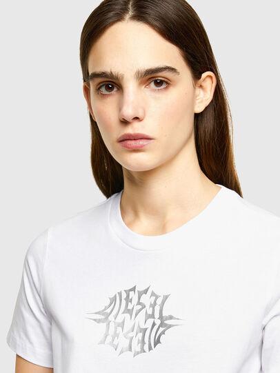 Diesel - T-SILY-K9, Blanco - Camisetas - Image 3