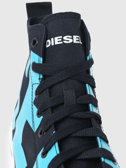 Diesel - S-ASTICO MID CUT, Negro/Azul marino - Sneakers - Image 4
