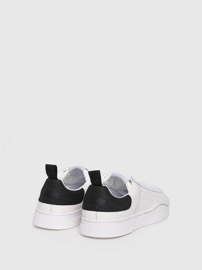 Diesel - S-CLEVER LOW W, Blanco/Negro - Sneakers - Image 3