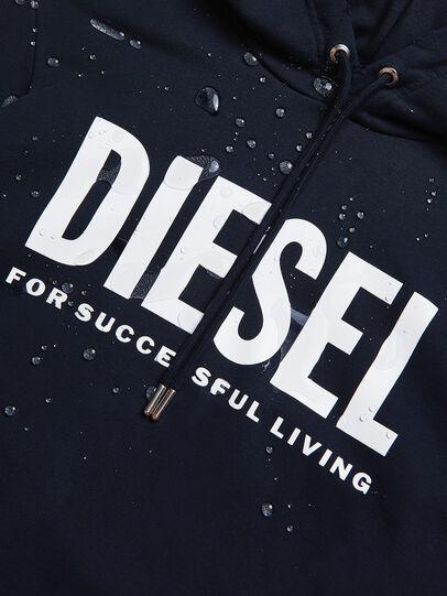 Diesel - S-GIR-HOOD-DIVISION-, Azul Oscuro - Sudaderas - Image 6