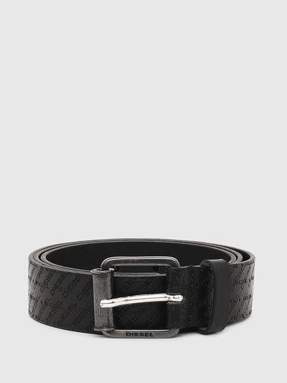 Diesel - B-ZENO, Negro - Cinturones - Image 1