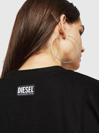 Diesel - D-FELIXER, Negro - Vestidos - Image 3
