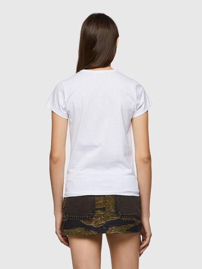 Diesel - T-SLICUP-B1, Blanco - Camisetas - Image 2