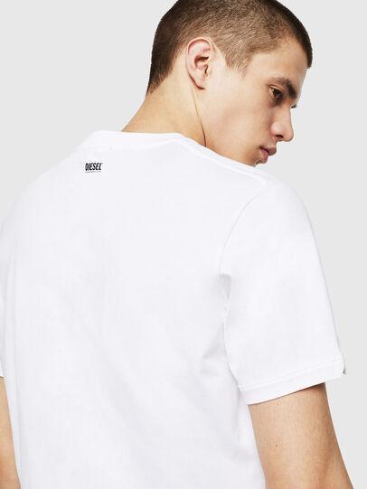 Diesel - T-CHERUBIK-NEW, Blanco - Camisetas - Image 3