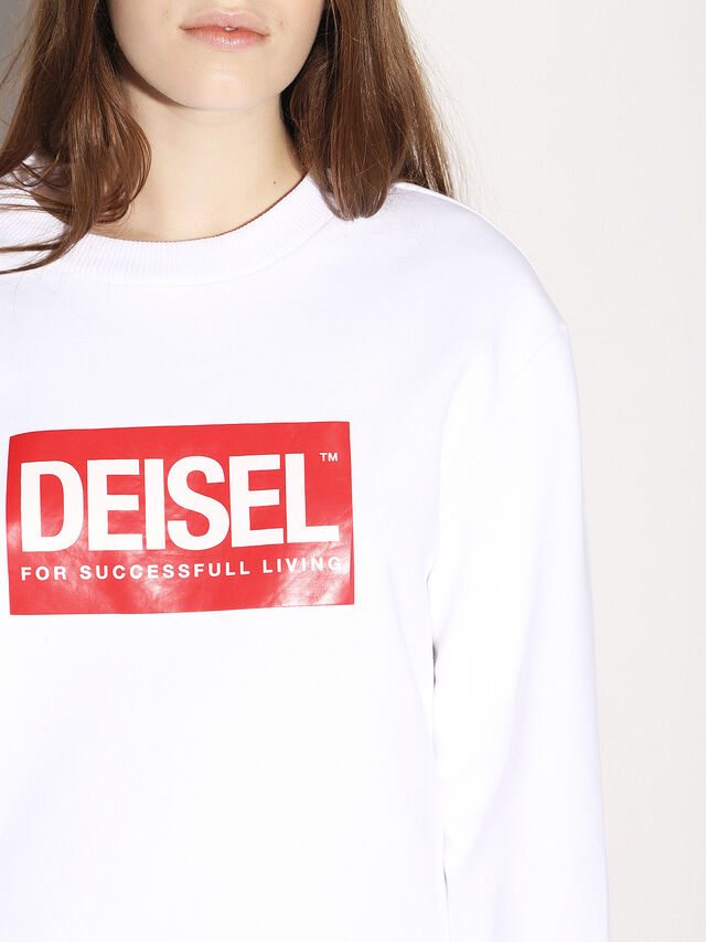 Diesel - DEIS-SGIRO, Blanco - Sudaderas - Image 8