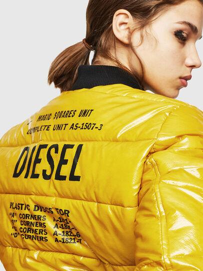 Diesel - W-ONY, Amarillo - Chaquetones de invierno - Image 3