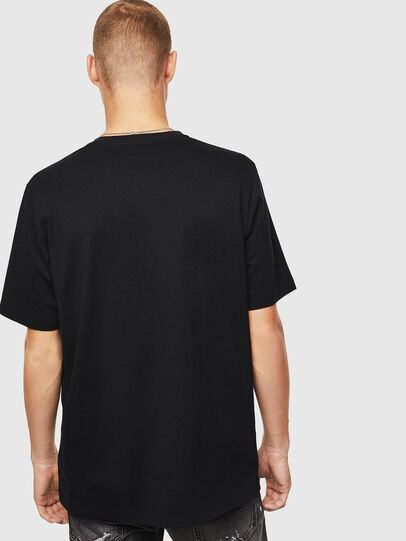 Diesel - T-JUST-J15, Negro - Camisetas - Image 2