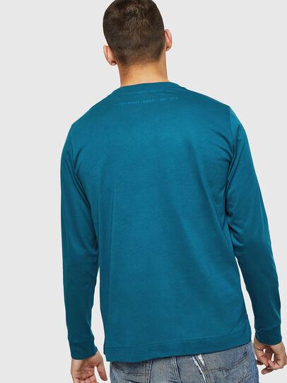 Diesel - T-LERMON, Azul Marino - Camisetas - Image 2
