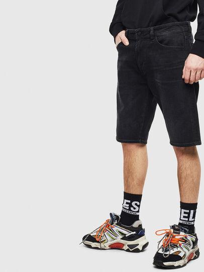Diesel - THOSHORT, Negro - Shorts - Image 4