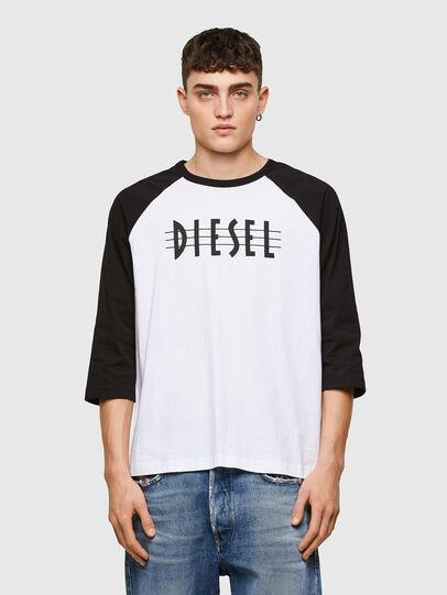 Diesel - T-BEISBOL, Blanco - Camisetas - Image 1