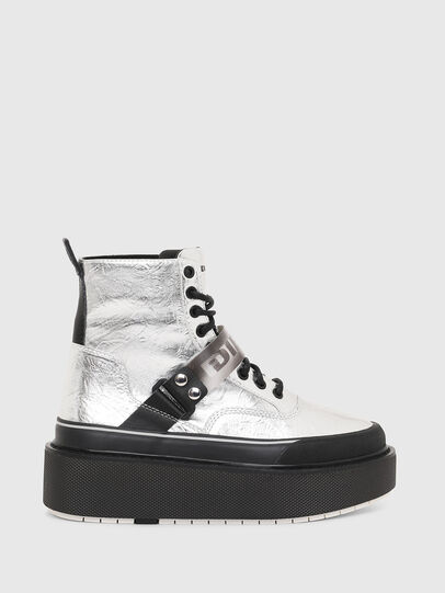 Diesel - H-SCIROCCO STRAP, Plata - Sneakers - Image 1