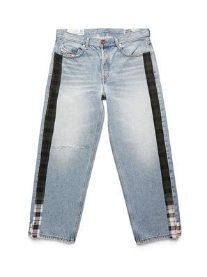 D-DEEPCHECKDENIM, Azul Claro - Pantalones