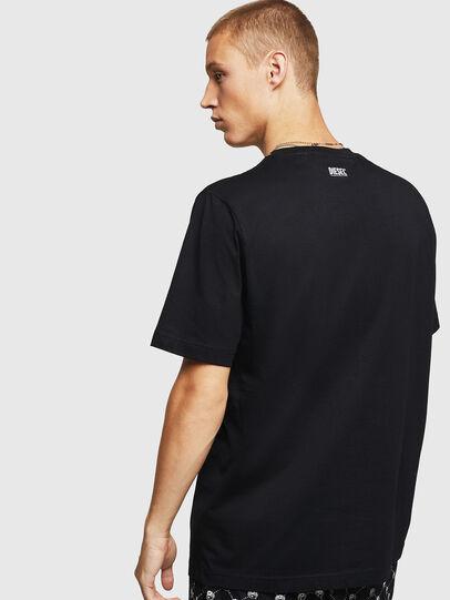 Diesel - T-JUST-B15, Negro - Camisetas - Image 2