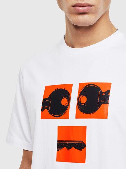 Diesel - T-JUST-T23, Blanco - Camisetas - Image 5