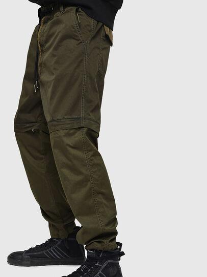 Diesel - P-CASHORT, Verde Militar - Pantalones - Image 3