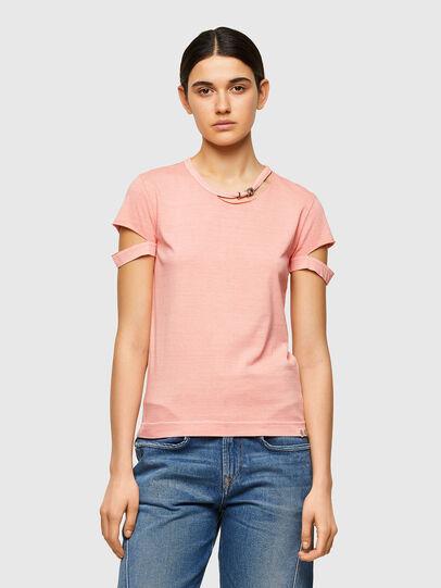 Diesel - T-BULLOCK-A1, Rosa - Camisetas - Image 1