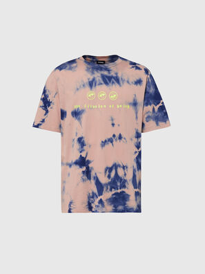 T-JUST-SLITS-X86, Rosa/Azul marino - Camisetas