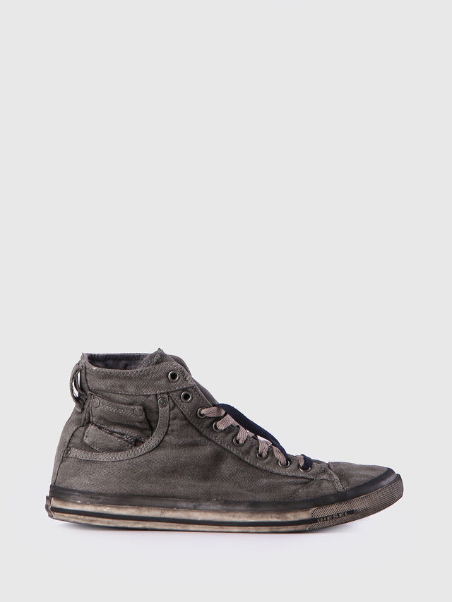 Diesel - EXPOSURE I, Gris Metal - Sneakers - Image 1