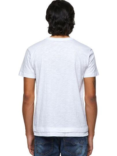 Diesel - T-RONNIE, Blanco - Camisetas - Image 2