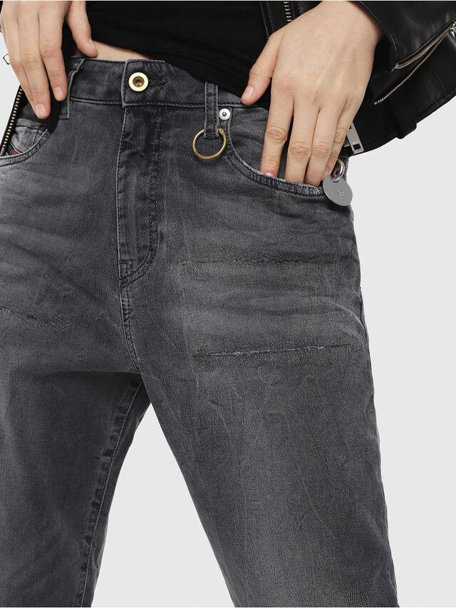Diesel - Candys JoggJeans 069EP, Negro/Gris oscuro - Vaqueros - Image 3