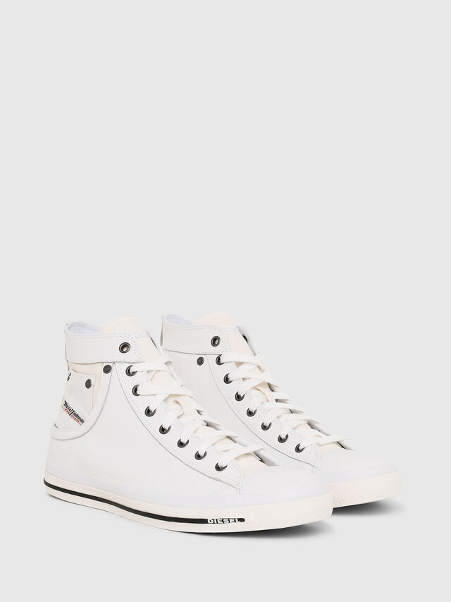 Diesel - EXPOSURE I, Blanco - Sneakers - Image 2
