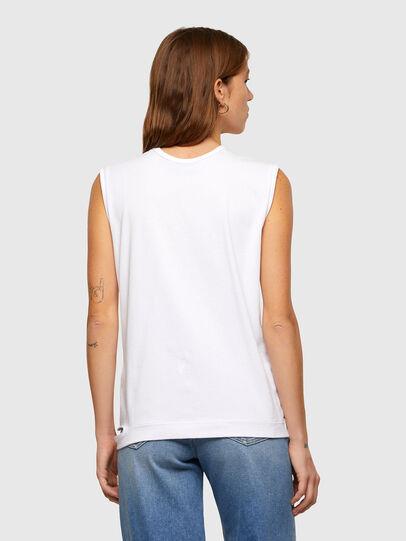 Diesel - T-BULL, Blanco - Camisetas - Image 2