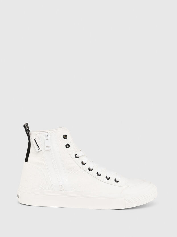 S-ASTICO MID ZIP W, Blanco - Sneakers