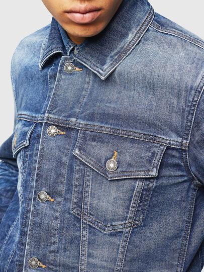 Diesel - NHILL-TW, Blue Jeans - Chaquetas de denim - Image 5