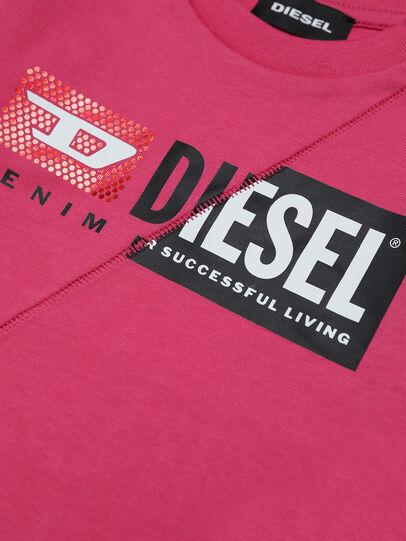 Diesel - TDIEGOCUTYB-FL ML, Rosa - Camisetas y Tops - Image 3