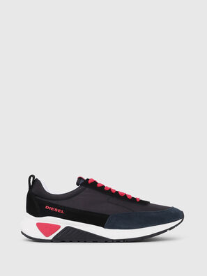 S-KB LOW LACE, Negro/ Rojo - Sneakers