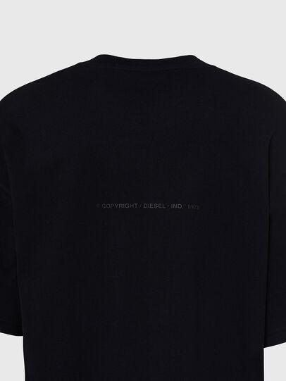 Diesel - T-BALL-X1, Negro - Camisetas - Image 4