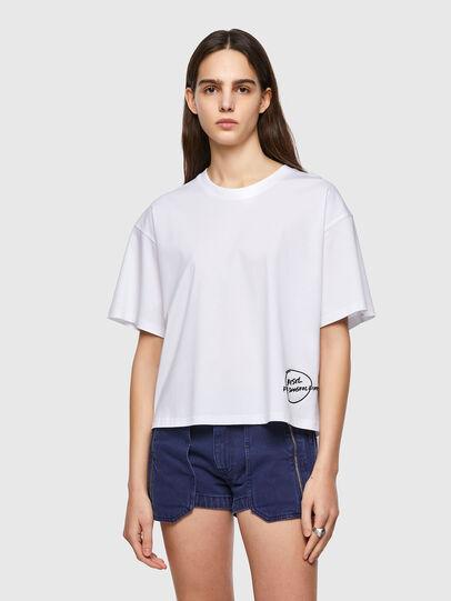 Diesel - T-BOWBOW, Blanco - Camisetas - Image 1