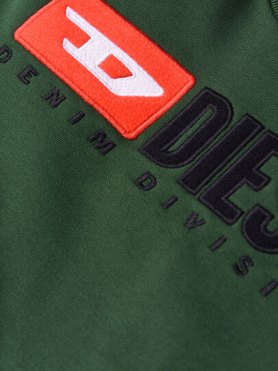 Diesel - SCREWDIVISION OVER, Verde Botella - Sudaderas - Image 3