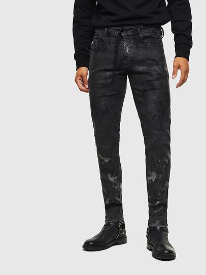 Diesel - Thommer JoggJeans 084AI, Negro/Gris oscuro - Vaqueros - Image 1