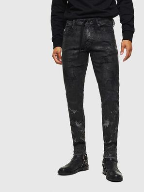 Thommer JoggJeans 084AI, Negro/Gris oscuro - Vaqueros