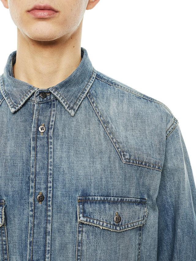 Diesel - SUVER-D, Blue Jeans - Camisas - Image 3