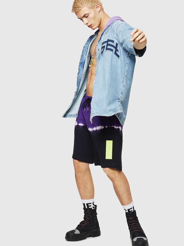 Diesel - D-BOW-J, Blue Jeans - Camisas de Denim - Image 5