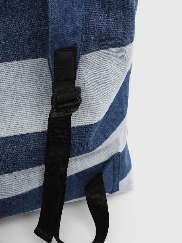 Diesel - VOLPAGO BACK, Blue Jeans - Mochilas - Image 5