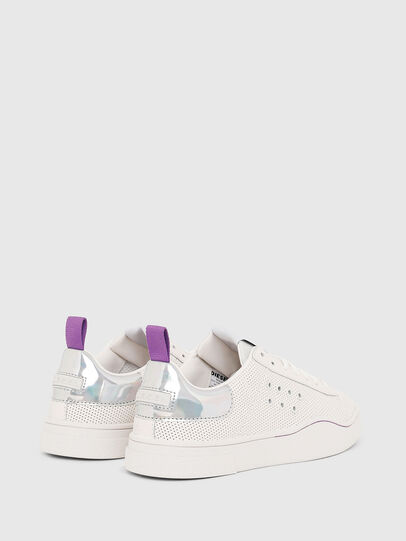 Diesel - S-CLEVER LC W, Blanco/Rosa - Sneakers - Image 3