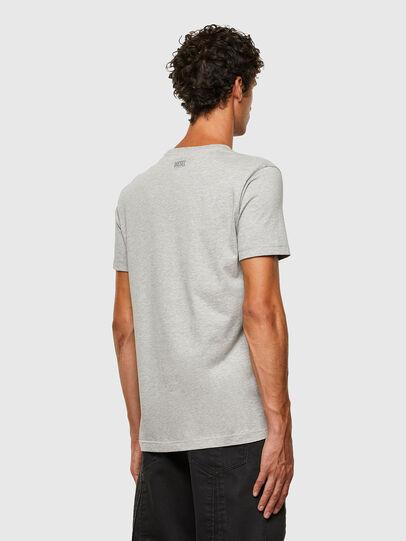 Diesel - T-DIEGOS-N28, Gris - Camisetas - Image 2