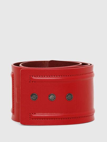 Diesel - B-INO, Rojo Fuego - Cinturones - Image 1